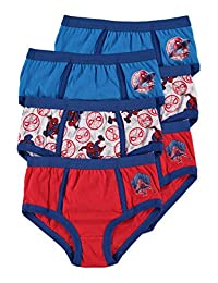 Spider-Man Boys Underwear | Briefs 6-Pack Size 6