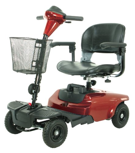 Drive Medical Bobcat 4-Wheel Travel Scooter/Mobility Scooter
