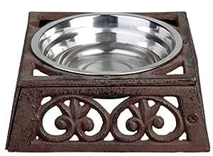 Esschert Design Pet Bowl Cast Iron, Small