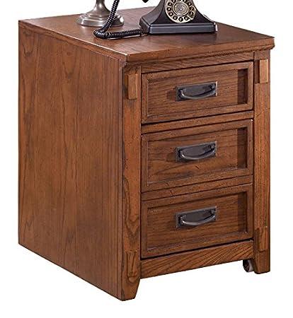 Ashley Furniture Signature Design   Cross Island File Cabinet   1 Storage  Drawer/1 File