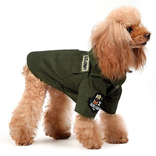 Alfie x B.Duck - Asher Military Polo Shirt - Color Green, Size: (Halloween Costumes For Border Collies)