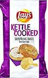 NEW Lay's Kettle Cooked Everything Bagel With Cream Cheese Flavored Potato Chips 8.0oz (1)