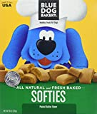 Blue Dog Bakery Softies, Peanut Butter Flavor, All Natural and Fresh Baked 18 Ounce