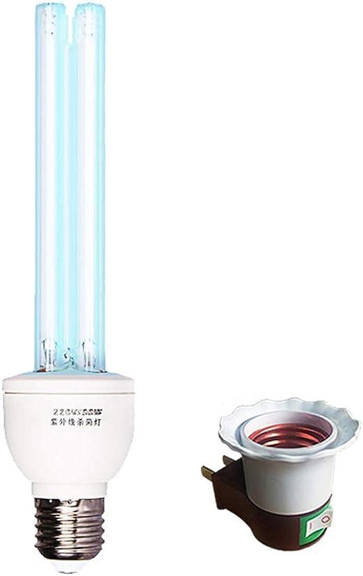 Luz Esterilizadora UV Lámpara De Esterilización UVC De 30W Móvil ...
