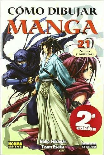 Como dibujar manga 21 / How to Draw Manga 21: Ninjas Y ...