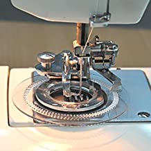 Tinksky Multi-functional Daisy Flower Stitch Sewing Machine Presser Foot for Brother Singer Babylock Janome Kenmore
