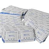 200pcs Nail Gel Lacquer Polish Foil Remover Wraps with Acetone
