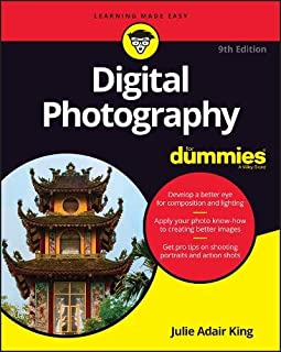 Book Cover: Digital Photography For Dummies