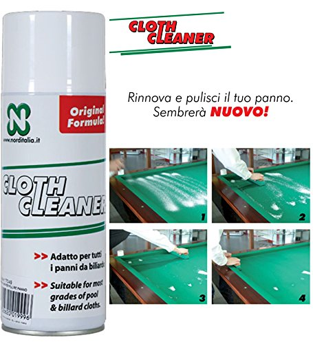Limpiador para paño de billar Cloth Cleaner, cómodo e ...