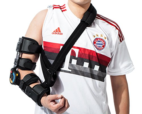 Orthomen ROM Elbow Brace with Sling (Right)