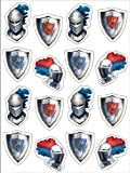 Knight Sticker Sheets (4 count)