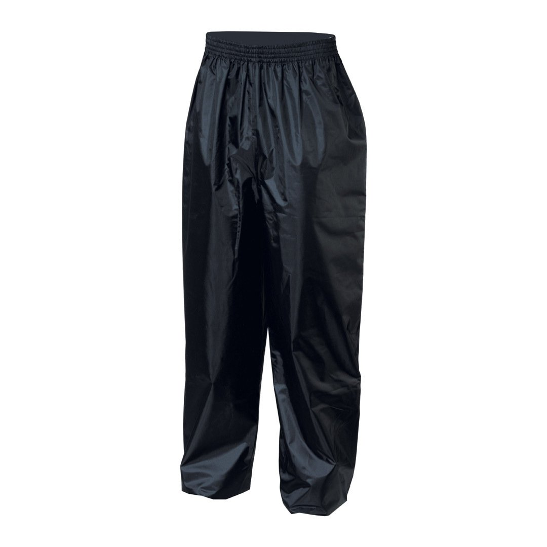 IXS Crazy Evo Rain Pants (Black, 5X-Large) X79008-003-5XL