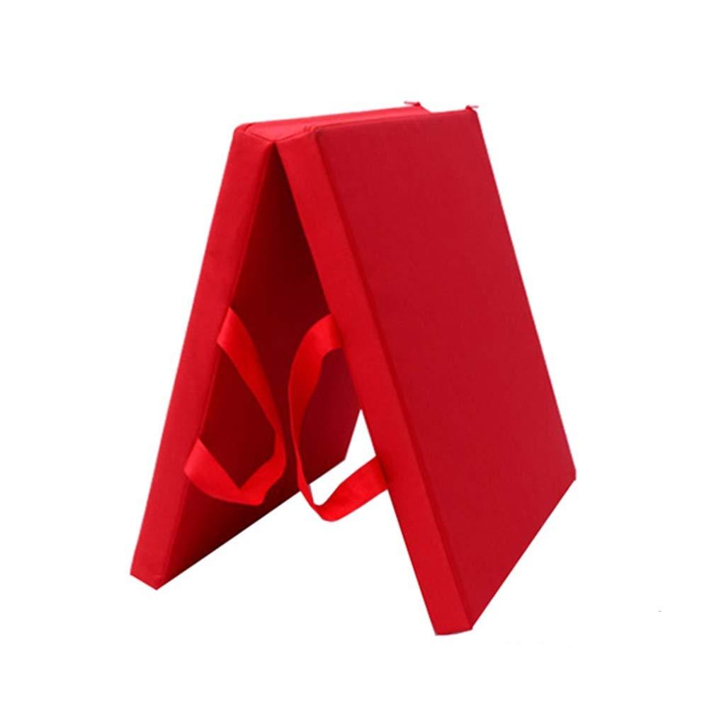 お買い得モデル ZJ 赤 さいず ヨガ B07R3TD6VV、体操の中心の試しのための持ち運び用ハンドルが付いている二重5cmの厚い練習のマット - 多色およびサイズ (色 : 赤, サイズ さいず : 70×150×5CM) B07R3TD6VV 赤 60×120×5CM 60×120×5CM|赤, オリジナルグッズ ORENO:3bcb9739 --- arianechie.dominiotemporario.com