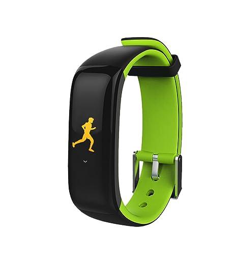 Gama alta brillante verde moda único reloj inteligente deporte al aire libre reloj Digital para Hombres Mujeres Reloj De Pulsera: Amazon.es: Relojes