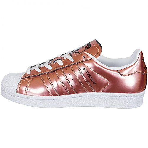 Adidas Originali Damen Sneaker Superstar Copper 38