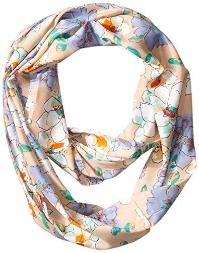 UPC 655209213135, D&Y Women's Vintage Floral Loop Scarf, Beige, One Size
