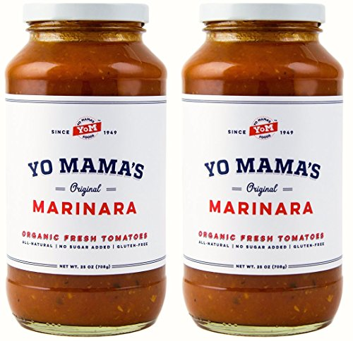Whole Foods Pizza (Marinara Magnifica Award-Winning Gourmet Pasta Sauce – (2) 25 oz Jars – No Sugar Added, Gluten Free, Preservative Free, Paleo Friendly, and Made with Whole, Organic Tomatoes!…)