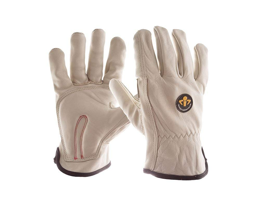 ST5010 Leather Anti-Impact Glove VEP Protection from Impact (Extra Small)