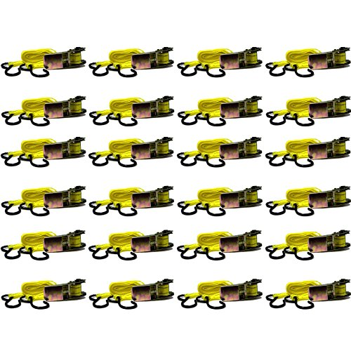 BlueDot-Trading-Ratchet-Tie-Down-with-S-Hook-24-Pack