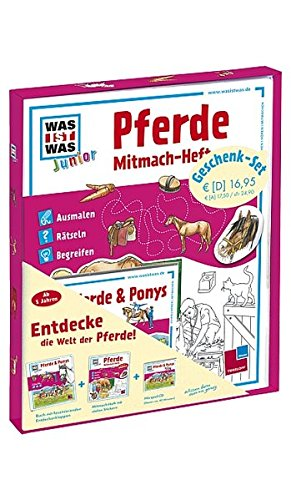 WAS IST WAS Junior Geschenkset Pferde & Ponys