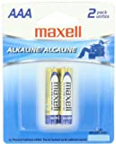 Maxell 723807 LR03 2BP AAA Cell 2-Pack Carded Battery