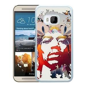 Jimi Hendrix White New Design Phone Case For HTC ONE M9 Case