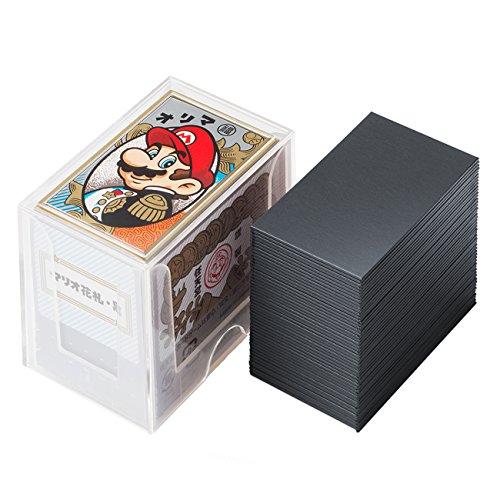 Nintendo Mario playing cards (black) -