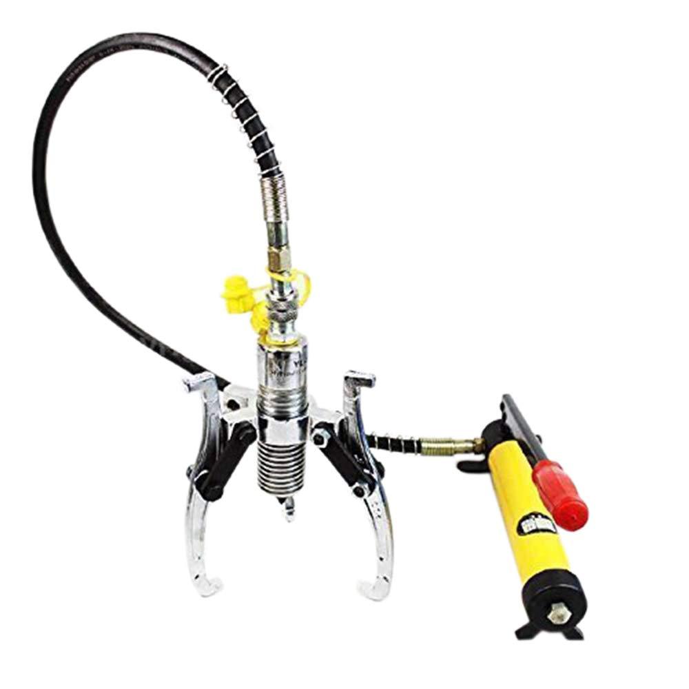450581 Split Type Manual Hydraulic Press Pulley Gear Wheel Puller 10Ton W/Pump KATSU Tools