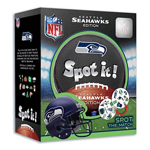 MasterPieces NFL Seattle Seahawks Spot It