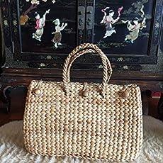 003921e064 Oversized Large Straw Basket Bag