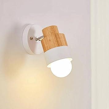 GAOLILI Moderne Minimalistische Landhaus Schlafzimmer Nachttischlampe  Wohnzimmer Ganglichter Korridor Balkon Spiegel Vorne Einzelne Scheinwerfer  Wandleuchte ...