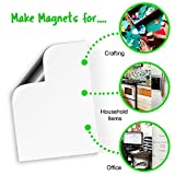 "Magnetic Dry Erase Sheets | White Blank 12"" x"