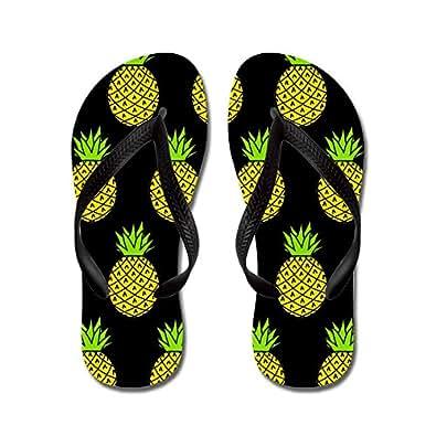 CafePress - Pineapples' - Flip Flops, Funny Thong Sandals, Beach Sandals
