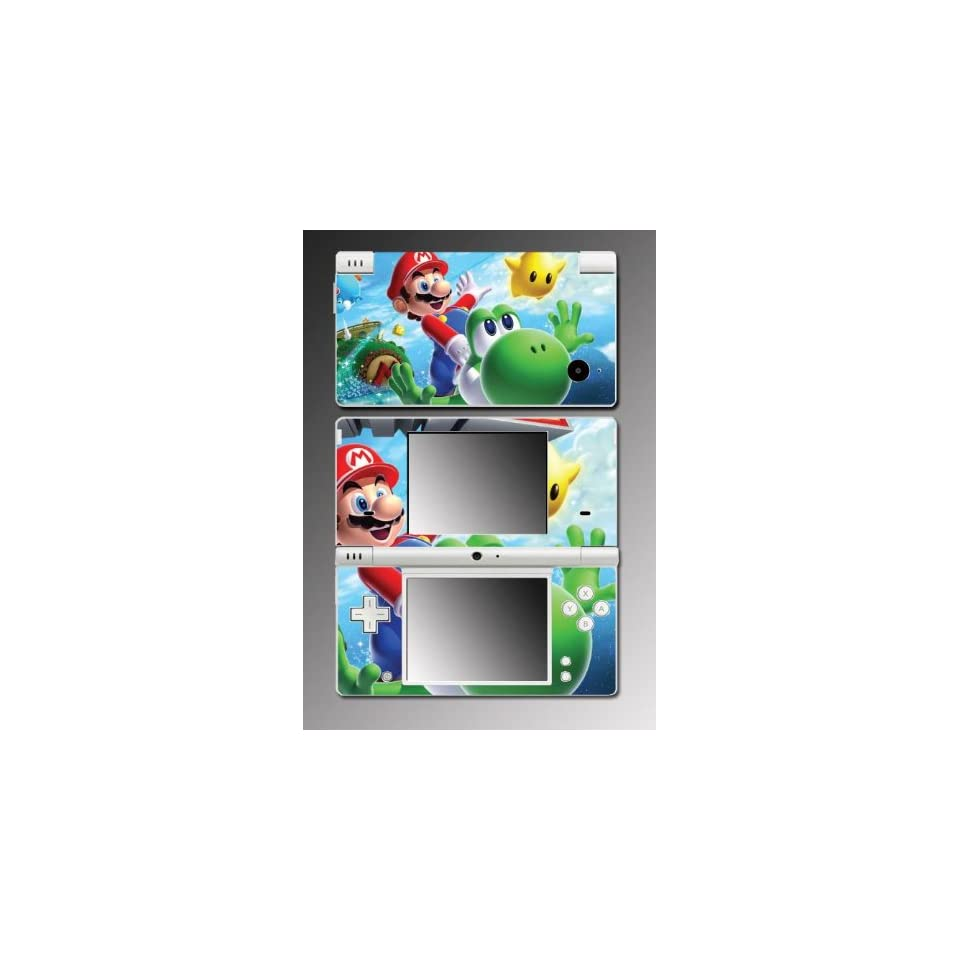 New Super Mario Bros Yoshi Video Game Mod Vinyl Decal Skin Protector Cover #10 for Nintendo DSi Video Games