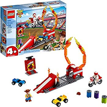 LEGO | Disney Pixar's Toy Story Duke Caboom's Stunt Show 10767 Building Kit, New 2019 (120 Pieces)