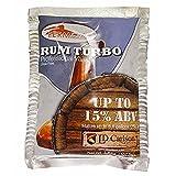 Home Brew Ohio HOZQ8-390 Fermfast Rum Turbo Yeast 107.5 G Packet, White