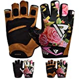 RDX Gym Weight Lifting Gloves Women Workout Fitness Ladies Bodybuilding Exercise Crossfit Breathable Powerlifting Wrist Support Strength Training.