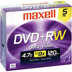 4x Rewritable Dvd+rw