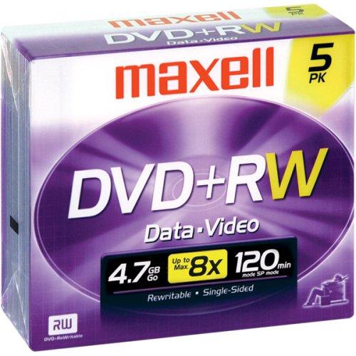 4X Rewritable DVD+RW