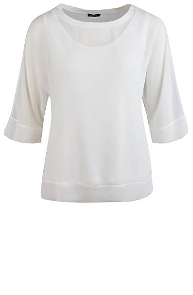 Bianca Camisas - Para Mujer Marfil Perla 46: Amazon.es: Ropa y accesorios