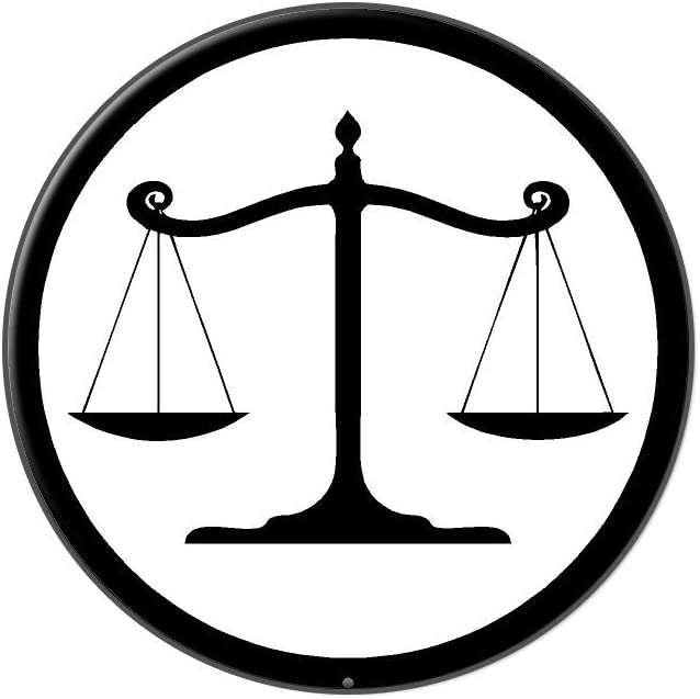 Lapel Pin Scales of Justice Judge Tie Tack Lawyer Attorney Prosecutor Metal Pin