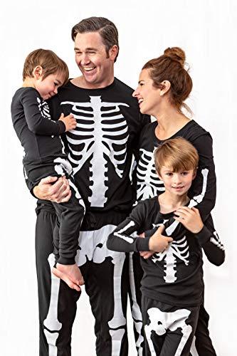 MJC Skeleton Halloween Costume Pajamas for Men, Large/Extra Large ()