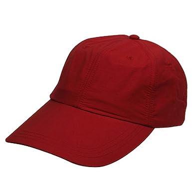 5120770853e7f Whispering Adams UV 45+ Sunshields Caps-Nautical Red at Amazon Women s  Clothing store  Baseball Caps
