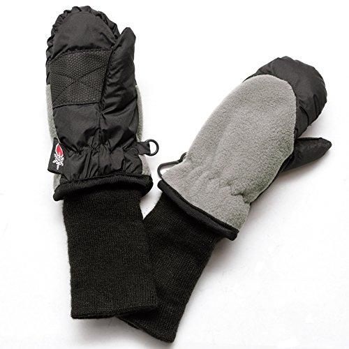 SnowStoppers Waterproof Stay On Kid's Winter Fleece Mittens
