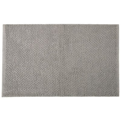 Jovi Home 100-Percent Cotton Chantilly Chenille Bath Mat, 20 by 30-Inch, Gray by Jovi Home (Image #1)