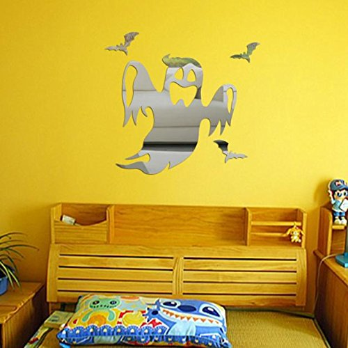 Halloween Ghost Background Decorated Living Room Bedroom Wall Stickers Decoration Sticker - Sticker Kids -