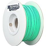 MG Chemicals PLA 3D Printer Filament, 1.75 mm, 1 kg, Fluorescent Green - Glows under Black light
