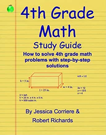 Workbook common core worksheets 4th grade math : Amazon.com: 4th Grade Math Study Guide eBook: Jessica Corriere ...