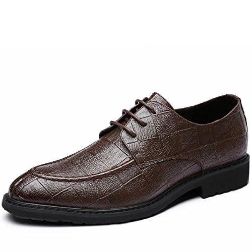 GRRONG Chaussures Occasionnelles Brown