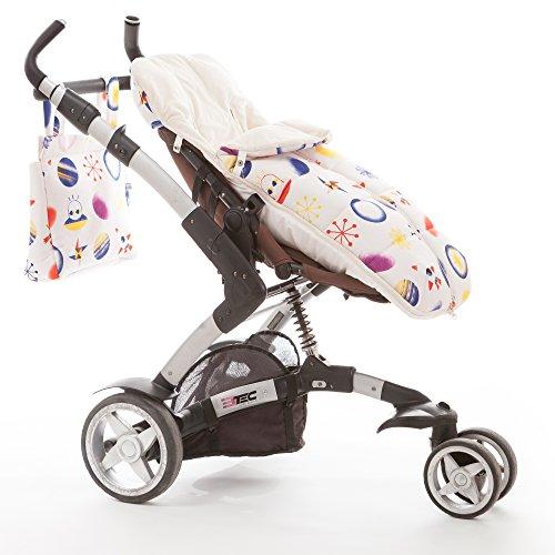 Bolso carrito silla de paseo bebe diseñada fabricada en España STAR TIGER